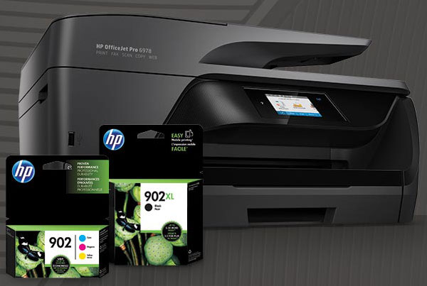 Hp printer with cartridges